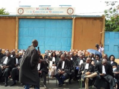 ''Violation'' droits des détenus : « Nous allons en saisir les instances internationales » (Me Salambéré, bâtonnier de l'Ordre des avocats)