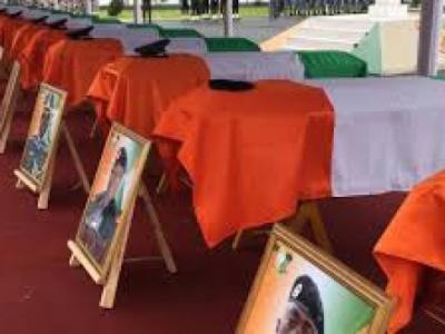 Hommage aux soldats tombés à Kafolo : L'insécurité au Sahel fait des vagues  sur la côte atlantique