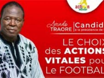 Amado Traoré, candidat à la présidence de la FBF : «Rien ne peut  et ne doit nous distraire»