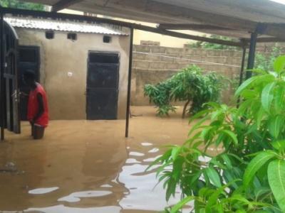 Arrondissement 10 de Ouagadougou : De juillet à octobre, Wiidtogin a les pieds dans l'eau