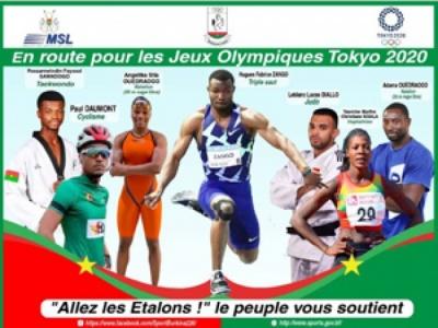 J.O. Tokyo 2020 : L'Afrique à la conquête de l'Empire du Soleil Levant