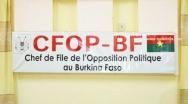 Récusation du Sao Naaba par l'opposition politique: «Si on ne le remplace pas, nos commissaires ne siégeront pas à la CENI» (Alain Zoubga, membre du CFOP)